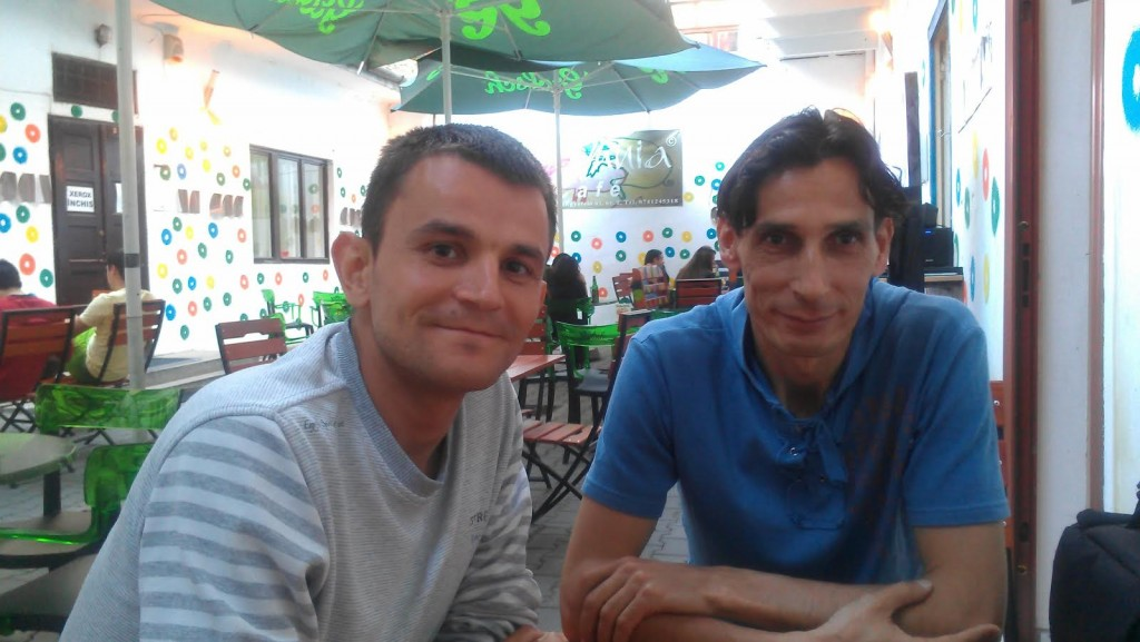Dan Iepure and Vasile Mathe